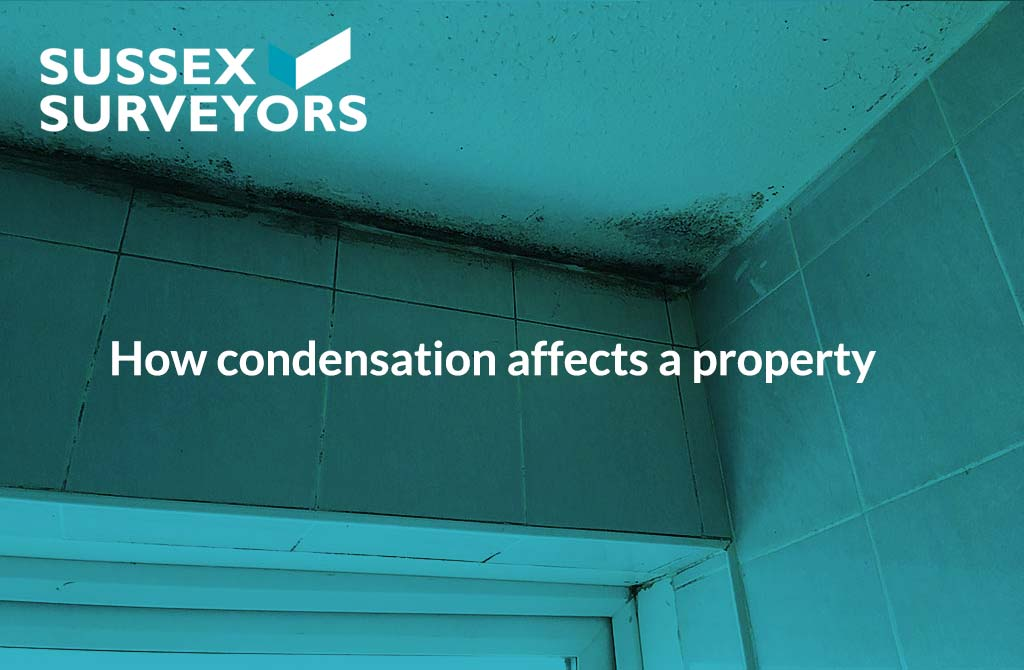 How condensation affects a property